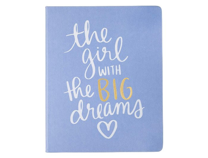 The Girl With Big Dreams Hardcover Journal