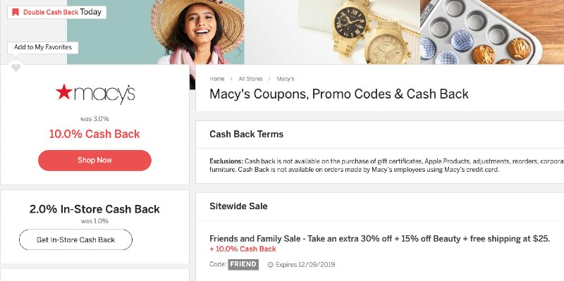coupons and promotions on rakuten