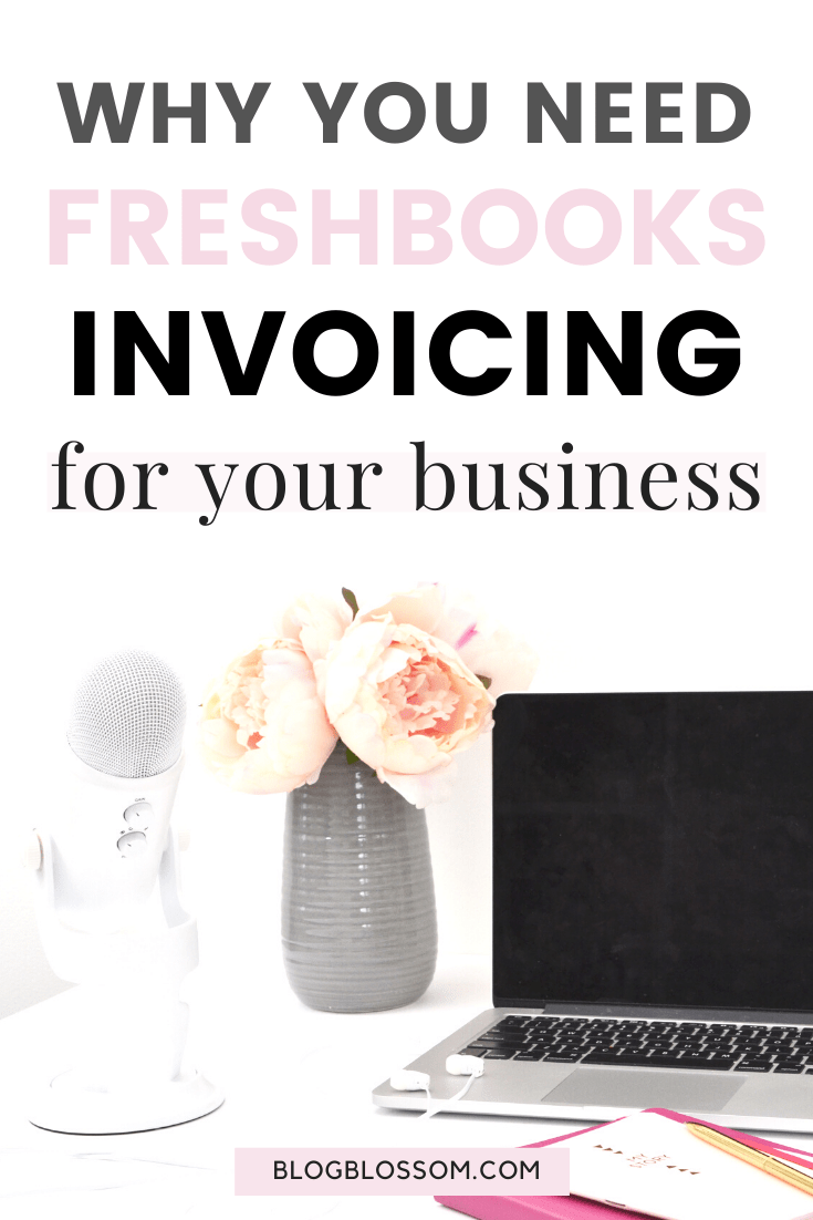 Whether you're a freelancer, self-employed, or a small business owner, it's important to use a trustworthy and reliable invoicing software. Read my post on how Freshbooks will help you save time and provide professional looking invoicing services so you can focus on providing the best customer service and delivering results to your clients. | freelance tips | business invoice | girlboss | accounting | business tips | entrepreneurship | entrepreneur tips | virtual assistant | Freshbooks invoicing