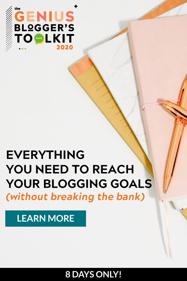 genius blogger's toolkit 2020