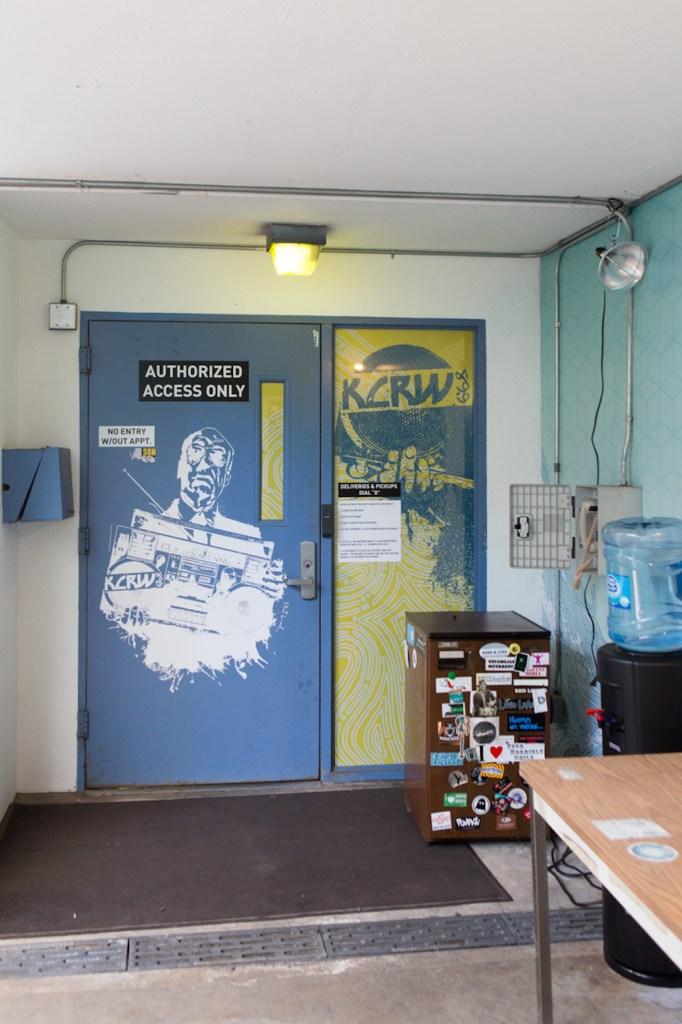 Eingangsbereich zum besten Radiosender der Welt © Andrea Vollmer & Michael Kuchinke-Hofer