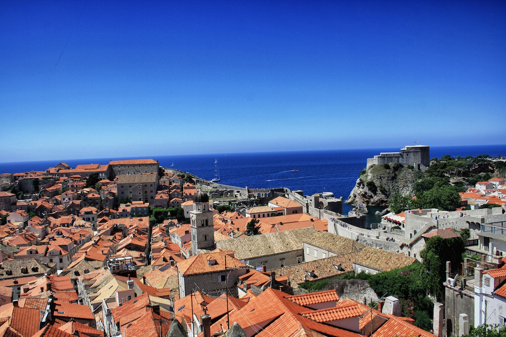 Bäm: Blick auf Dubrovnik © Jörg Ankermüller
