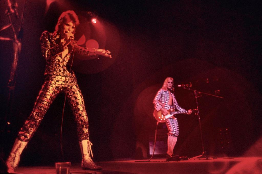 Cleveland Public Auditorium USA, 25. November 1972 © Mick Rock