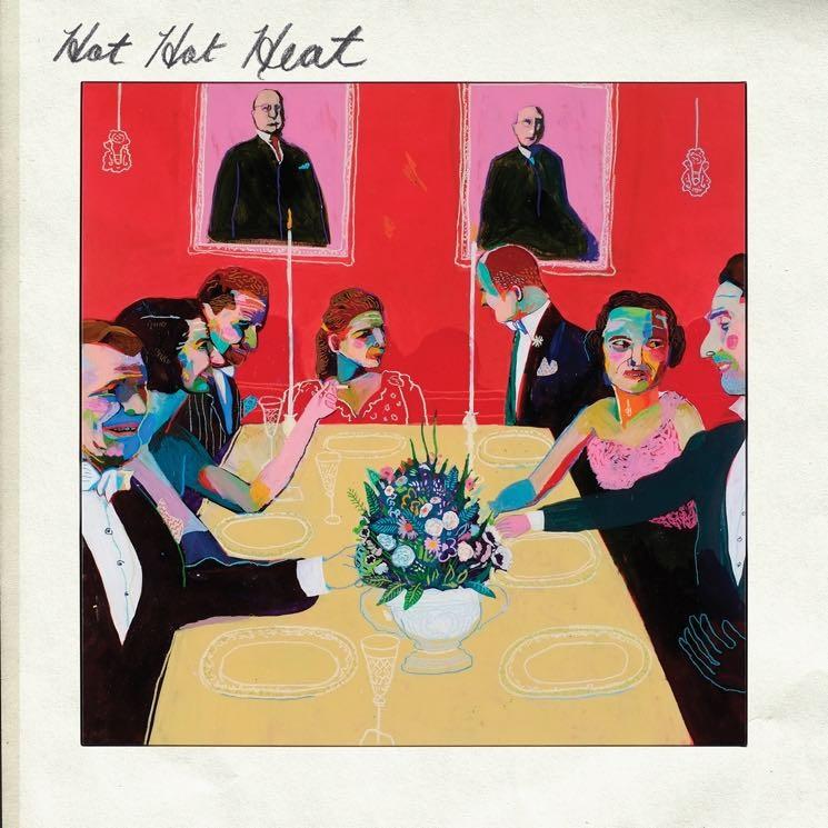 """Cover zu """"Hot Hot Heat"""" (Artwork by Andy Dixon)"""