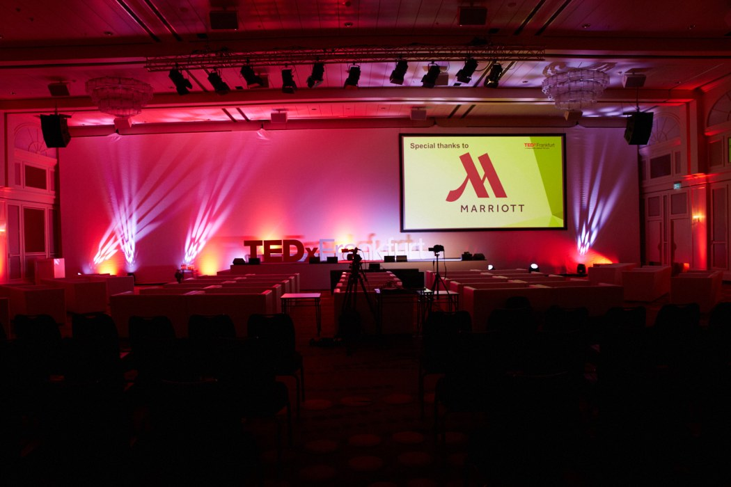 © TEDxFFM 2016 at Frankfurt Marriott Hotel