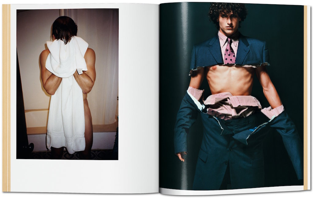 Links: David Genat, Los Angeles, 2013; Rechts: Carlos Bokelmann, London, V Magazine, 2000 © Mario Testino