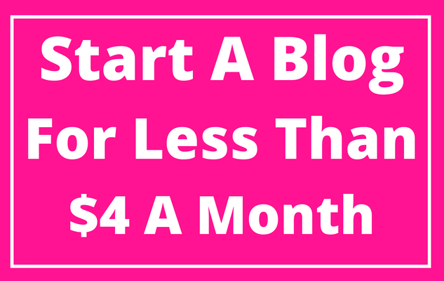 easy way to start a blog