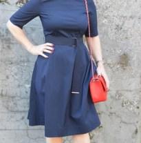 str jurk blauw 2