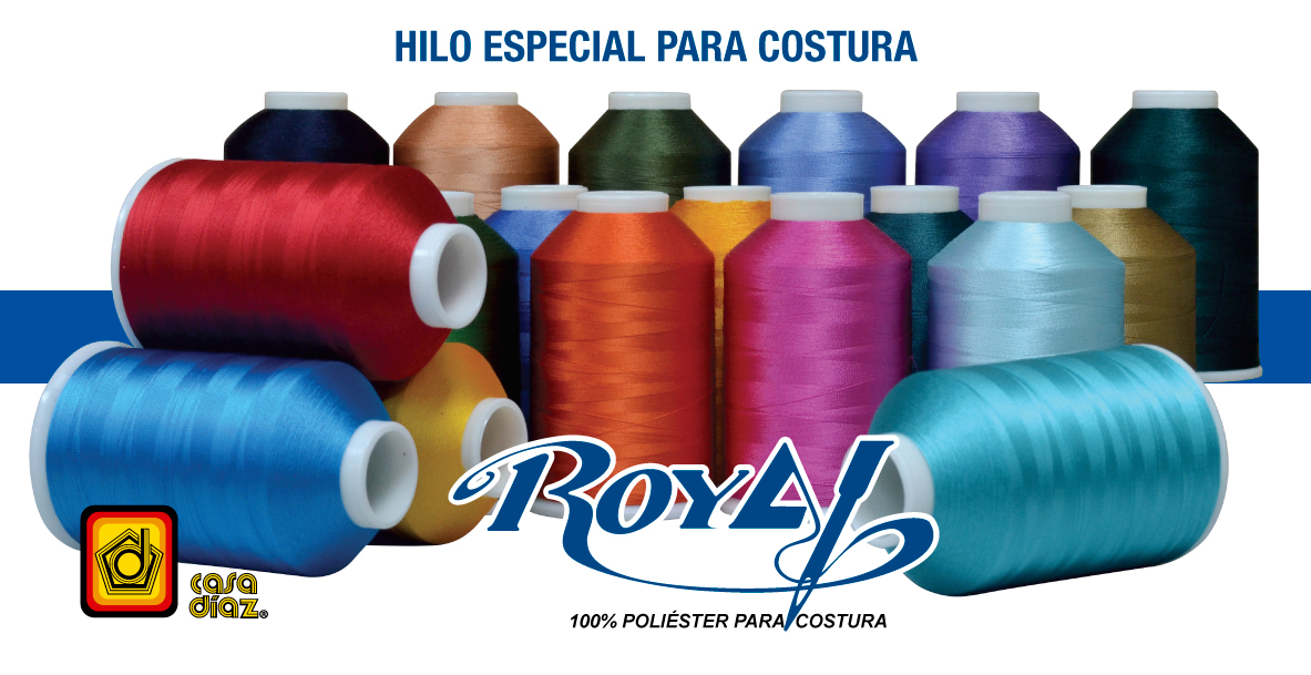 Hilo Royal costura