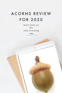 Acorns Review for 2020