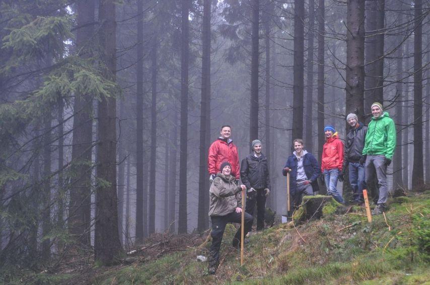 Gruppenfoto-Blog
