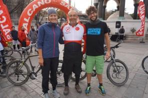 Fahrradtour zu Ehren der Lehrer