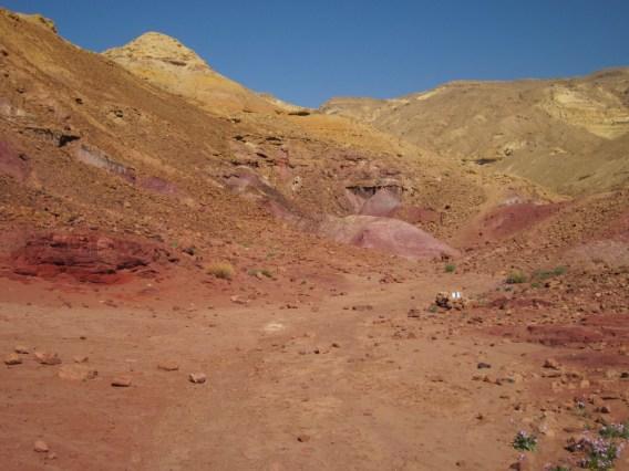 Farbenfroh im Kraterinneren II