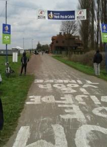 Paris-Roubaix 2016 - das Ziel in Sicht