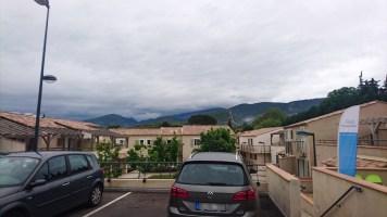 Dentelles de Montmirail, eine kleine Bergkette westlich des Mont Ventoux