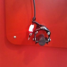 Für die Montage an der Rennradbremse! Bremslicht von Sigma Sport