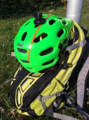 Deuter Attack 16 mit Helm