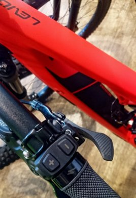 Specialized Levo 2018 Bedieneinheit am Lenker