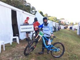 Downhill-WM Australien 2017 Florian Werres