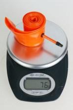 Tubolito Schlauch Gewicht
