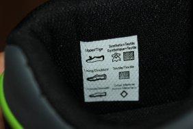 Textilschild innen