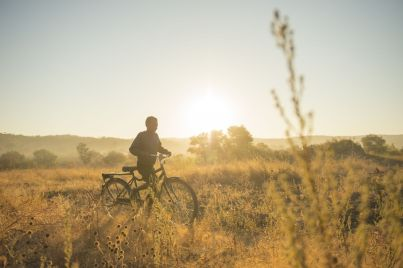 Tamara unterwegs - Copyright World Bicycle Relief