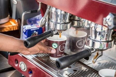Kaffee vom Coffee-Bike
