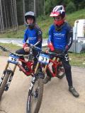 Florian und Marcell in Klinovec