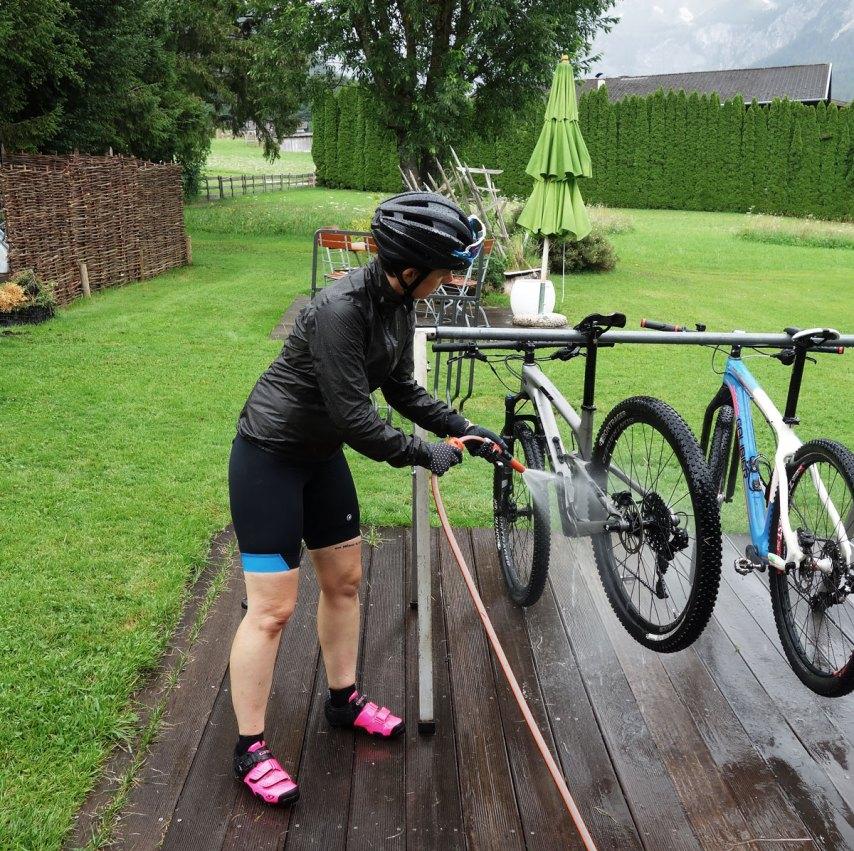 Bike Waschstation