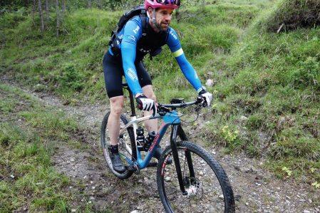 Biken in der Zugspitz Arena - Aaron