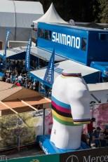Der Shimano Truck im Herzen des Geländes