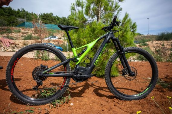 Specialized Men's Turbo Levo Expert FSR 2019 in monster green
