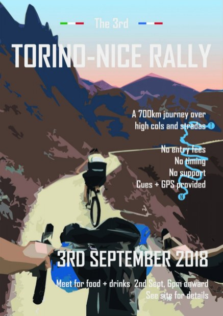 Turin-Nizza-Rally 2018 Flyer