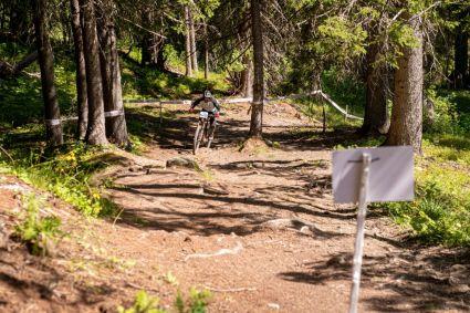 Nick auf der Uphill-Stage