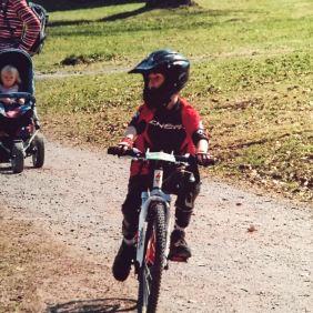 Florian mit 7 Jahren in Bad Wildbad