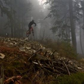 Schlechtes Wetter macht Florian nichts aus. (Foto: Anjuna Hartmann)