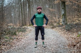 Von Kopf bis Fuß auf Trail eingestellt
