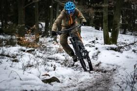 ...oder Schnee, der Dirtsuit hält dicht!