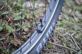 Bei jedem Laufrad im Liefrumfang enthalten: Der TyreWhiz von Quarq.