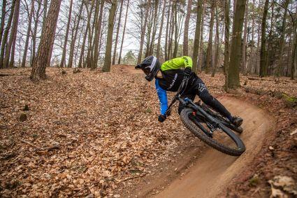 """Die 29"""" Laufräder verleihen dem Bike die nötige Stabilität, ohne dabei an Wendigkeit zu verlieren"""
