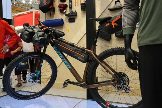 Santa Cruz Chameleon im Bikepacking-Style!