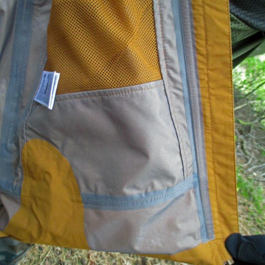 Absolut dicht: Die Mt500 Jacke hat verschweißte Nähte!