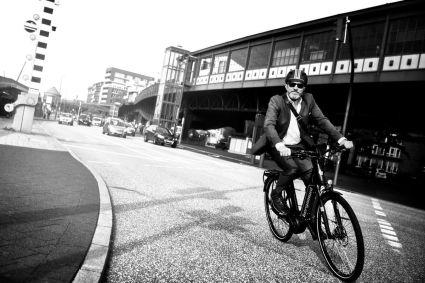 Bergamont E-Trekkingbikes besitzen sogar eine Federgabel, damit lassen sich auch geschotterte oder gepflasterte Radwege befahren
