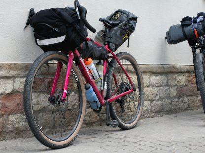 Was die Bikes wohl wiegen?