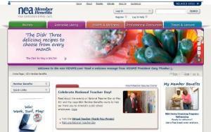 NEA Member Benefits new website