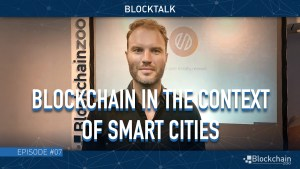 blockchian in smart cities