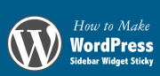 How to Get Fixed Right Sidebar in WordPress