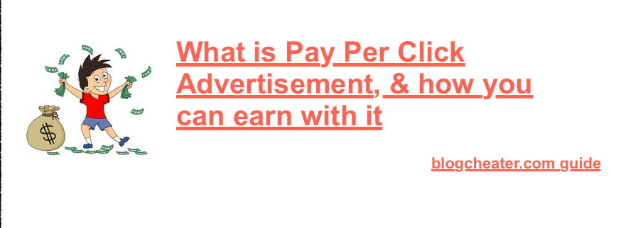 Pay per click Ad network – What are Pay per click advertisements