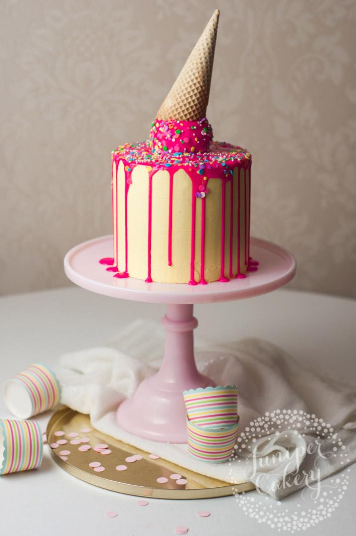 drip cake glaze