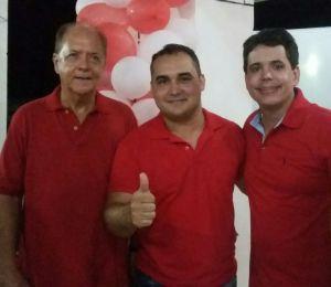 João Laércio, Fábio Fernandes e Juarez Júnior